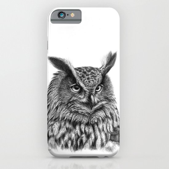 Eurasian Eagle Owl iPhone & iPod Case