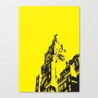 Liver buildings Canvas Print