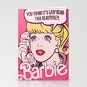 Barbie Stationery Cards