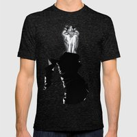 It Hurts When ... Mens Fitted Tee Tri-Black SMALL