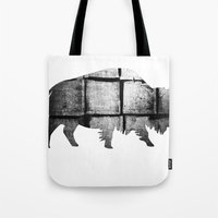Buffalo (The Living Thin… Tote Bag
