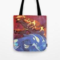 Omega Ruby & Alpha Sapphire Tote Bag