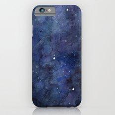 Night Sky Stars Galaxy | Watercolor iPhone 6 Slim Case