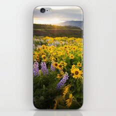 Oregon Wildflowers iPhone & iPod Skin
