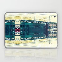 Tramway collage cityscape in Hong Kong Laptop & iPad Skin