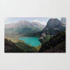 Grinnell Lake, Glacier National Park Canvas Print