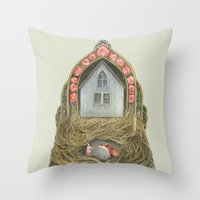 Sweet Home II // Polanshek Throw Pillow