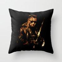 Blade Throw Pillow