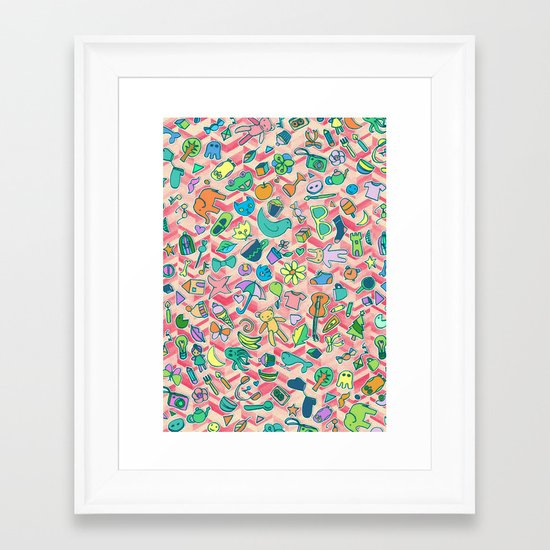 All The Little Things Framed Art Print