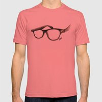 Hipster's Paradox Mens Fitted Tee Pomegranate SMALL