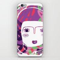 Protect_WHITE iPhone & iPod Skin