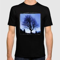 WinterMorning Mens Fitted Tee Black SMALL