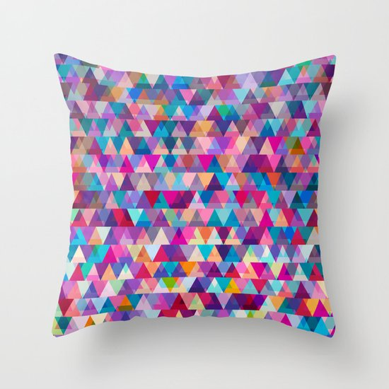 Mix #569 Throw Pillow by Ornaart Society6