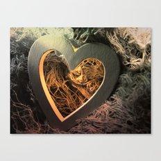 Light Up My Heart Canvas Print