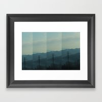 REREPEAT Framed Art Print