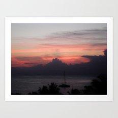 Jamaica - Sunsets IIII Art Print