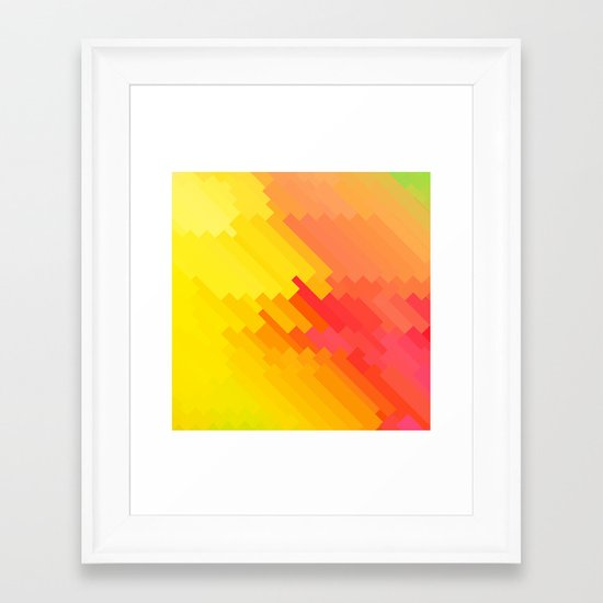 12Y Framed Art Print