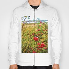 Nature red and green. Hoody