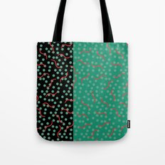 squiggles and dots Tote Bag
