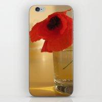 Italian Poppies iPhone & iPod Skin
