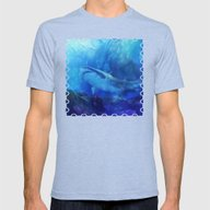 Make Way For The Great W… Mens Fitted Tee Tri-Blue SMALL