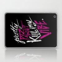 Pretty PLZ Don't Kill My Vibe Laptop & iPad Skin