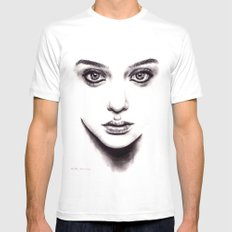 Bewitched  SMALL White Mens Fitted Tee
