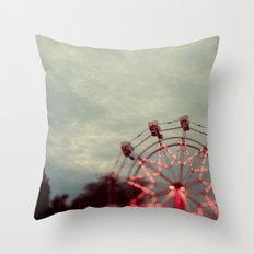 Treetop View Throw Pillow