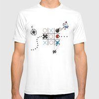 Tic Tac Tedium Mens Fitted Tee White SMALL