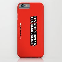iPhone & iPod Case featuring IT'S NOT SHAVING. IT'S BEARDACIDE. by The Beardly