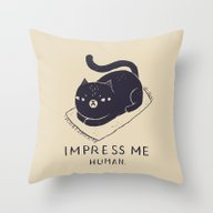 Impress Me Throw Pillow