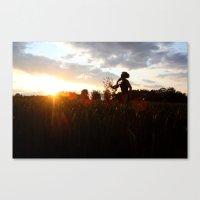 The Sun's On My Side, Ta… Canvas Print