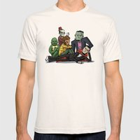 The Universal Monster Cl… Mens Fitted Tee Natural SMALL