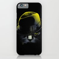 iPhone & iPod Case featuring The Alley Cat by Niel Quisaba