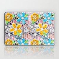 Paper Flower Power Laptop & iPad Skin