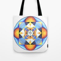 Solar Kaleidoscope (ANAL… Tote Bag