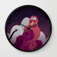 Earth Under The Heavens Wall Clock
