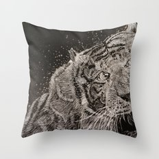 The Tiger Throw Pillow