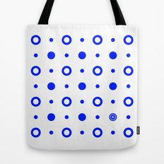 Dots / White Tote Bag
