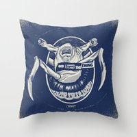 God Save the Thing Throw Pillow
