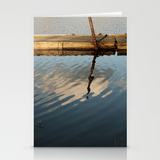 Two Waters and a Cloud Stationery Card