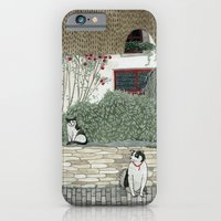 Red Door Cottage iPhone 6 Slim Case