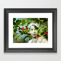 Winter Fancies Framed Art Print