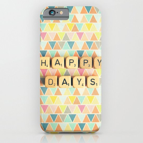 Happy Days iPhone & iPod Case