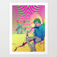 Marinero - Chican@ Art Print