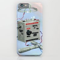 iPhone & iPod Case featuring Uncle Rico's Time Machine by FAMOUS WHEN DEAD