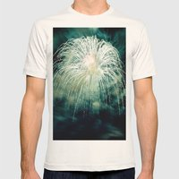 Firework Mens Fitted Tee Natural SMALL