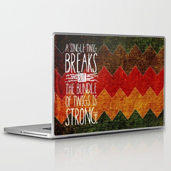 Tecumseh Quote Laptop & iPad Skin