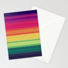 Woven Rainbow 06 Stationery Cards