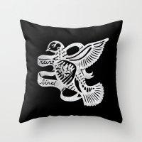 Rare Bird Throw Pillow